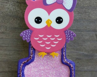 Owl Birthday Candle