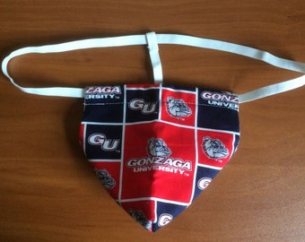 New Men's GONZAGA UNIVERSITY College Gift Gstring Thong Male Lingerie Underwear