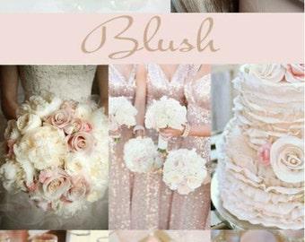 Handmade Blush Vintage Rose Crystal Leverback Earrings (Sparkle-2626-BL)