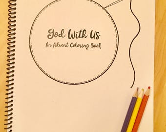 Advent Coloring Book: God With Us