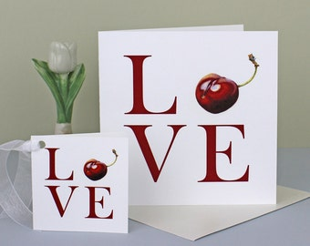 LOVE Card and Gift Tag