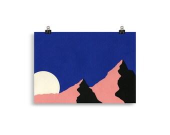 Art Print – Death Valley Moon