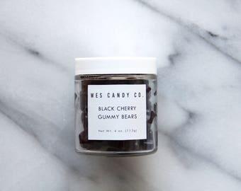 Black Cherry Gummy Bears (4 oz.)