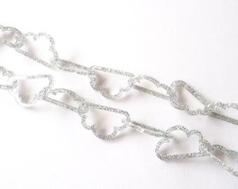 Every Cloud Necklace, Glitter Necklace, Laser Cut Necklace, Cloud Chain Necklace, Statement Cloud Necklace, RockCakes