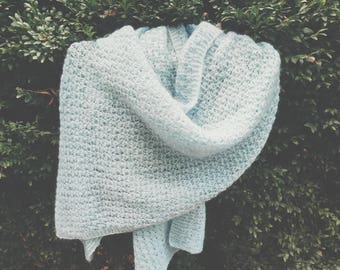 knitting lace scarf