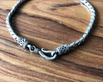 Men's 925 sterling silver bracelet