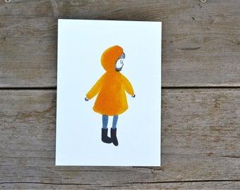 Rain Coat Print - 5X7