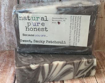 Smoky Patchouli Soap - Free Shipping Option!