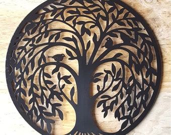 Attractive Sale Metal Wall Art Metal Wall Decor Metal Tree Wall Art Tree Decor Tree  Wall Decor Tree Wall Art Black Wall Art Black Wall Decor