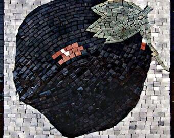 Mosaic Patterns- Eggplant