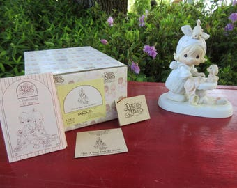 """Vintage Enesco Precious Moments """"This is Your Day to Shine Figurine"""" #E2822 in Box 1983"""