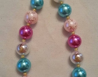 Belle (Beauty and the Beast) Chunky Bead Necklace