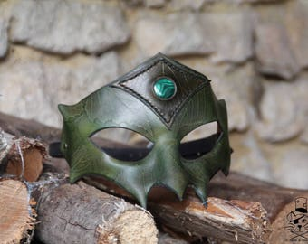 Leather - mask Dryad