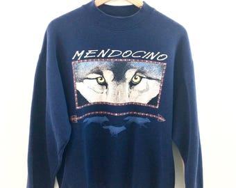 Vintage Wolf Eyes Mendocino Sweatshirt