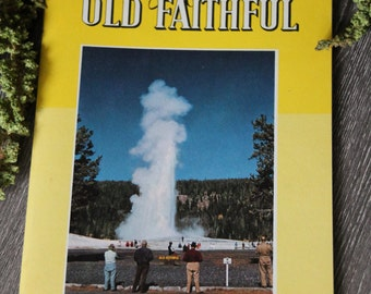 Vintage 1957 Yellowstone National Park Informational Book