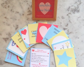 Lunchbox Love Notes, lunchbox cards, school lunch card, lunch note idea, classroom note cards, lunch box notes, back to school note cards
