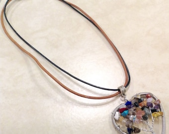 Beaded Tree of Life Necklace