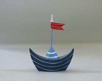 Nautical Favors Wedding, Sailboat Photo Card Holder