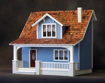 Beachside Bungalow Dollhouse Kit