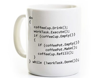 C++ Program Coffee Mug - Computer Science Programmer Software Developer Gift - Java Object Oriented Programming