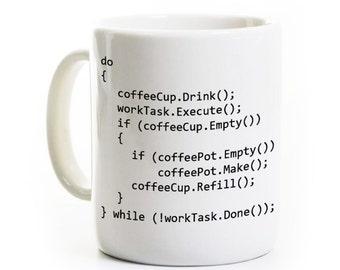 Programmation orientée objet Java de programme C++ - Computer Science programmateur logiciel développeur cadeau - une tasse de café