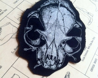 Anatomic Cat Skull Patch