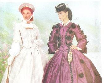 Butterick 6694 Misses' Civil War Costume Pattern, 18-22