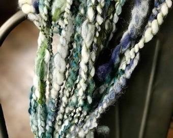 HandSpun, Thick and Thin, Bulky, Art Yarn