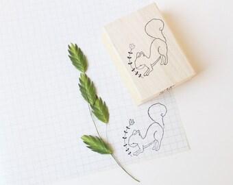 Rubber stamp Squirrel