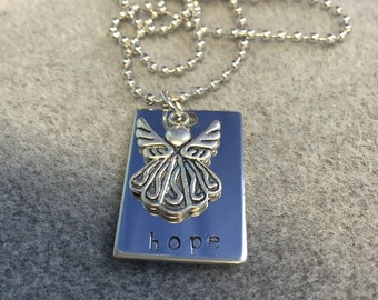 BOXING DAY SALE 50% off- Hope Angel Necklace