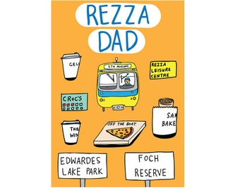 Father's Day Card - Rezza Dad