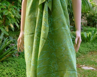 Green Beach Sarong, Pareo, Wrap