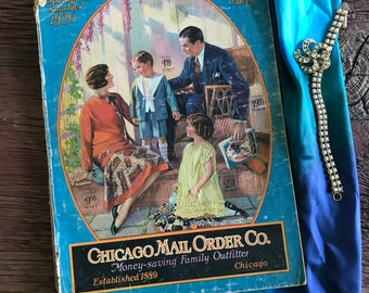 Spring Summer 1926 Chicago Mail Order Co. Company Catalog Roaring Twenties Paris Styles Vintage Fashions