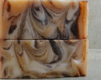 Turkish Mocha - Handmade Soap - Turkish Coffee, Marshmallow, Hazelnut, Cocoa Absolute