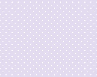 Sorbet Purple Mini Dots Fabric From Quilting Treasures Sold By the Yard