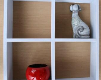Wall Shelf,Wood Shelf,Shelf,Wooden Shelf,  Chalk painted Wood Shelf