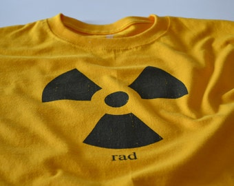 Nuclear Bomb Physics Shirt Nuclear Power Radiation Symbol Rad Tshirt Science Geekery T shirt for Men