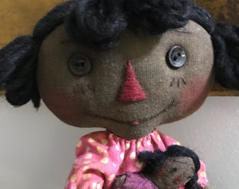 Annie and her dolly