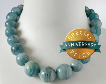 Acquamarine Necklace Tropical Blue