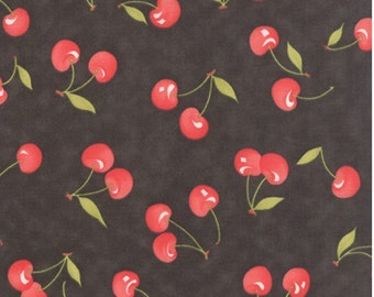 Farmhouse cotton cherry fabric by Fig tree for Moda fabric 20251 18