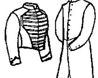 PI205  -  Boy's Shell or Frock Coat Sewing Pattern by Period Impressions