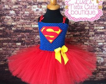 Superman tutu dress. Superman costume. Superman dress. Teen superman dress. Teen superman costume. Superman birthday. & Superman dress | Etsy