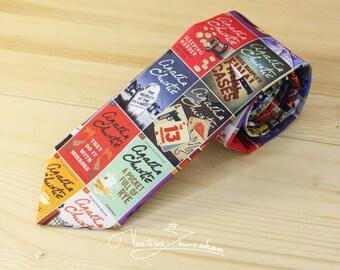 Agatha Christie tie
