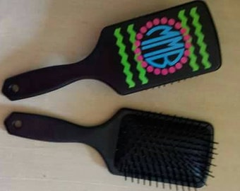 Personalized Hair Brush-Initials or Name