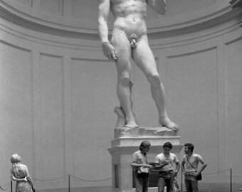 David by Michelangelo Fine Art Photograph