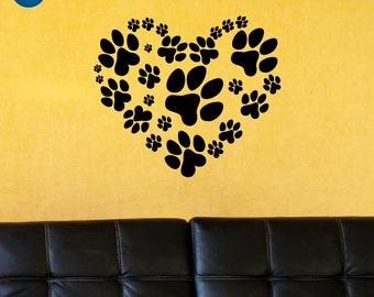 Dog Decal, Dog Decor, Dog Vinyl Decal, Dog Vinyl, Dog Wall Art
