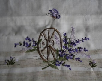 Lavender pillow cover