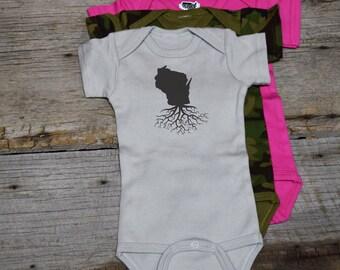 Wisconsin Roots Bodysuit