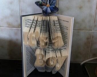 It's a boy Book Folding Pattern
