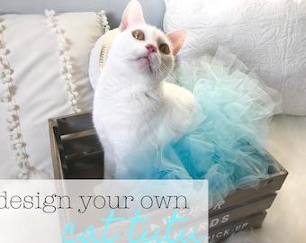 Design Your Own Tutu   Cat Tutu, Cat Apparel, Cat Clothing